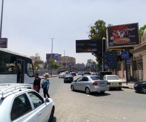 النشرة المرورية.. سيولة بالشوارع والمحاور الرئيسية والميادين فى القاهرة والجيزة