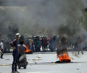 بعد تدخل البرلمان العراقي لحل أزمتها.. هل يخمد «الحلبوسي» تظاهرات البصرة؟