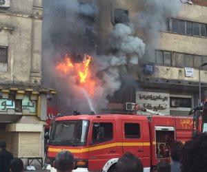 فيديو.. اللحظات الأولى لحريق ممر الراعى الصالح