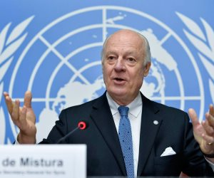 منصب المبعوث الأممي لسوريا شاغراً.. ماذا بعد استقالة «دي ميستورا» ومساعده؟