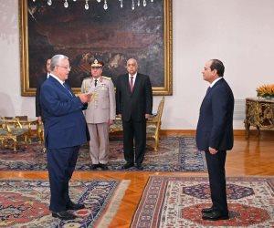 """""""جبالى"""" يحلف اليمين رئيسا لـ""""الدستورية"""".. ووسام الجمهورية لـ""""عبد الوهاب"""""""