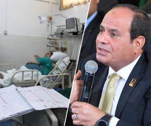 علاج الشعب أولا.. لماذا بكى الرئيس فى جلسة «الصحة» بمؤتمر الشباب؟
