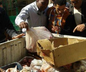 في محافظة الجيزة.. بطون «حوت» أطنان من الكلاب واللحوم الفاسدة