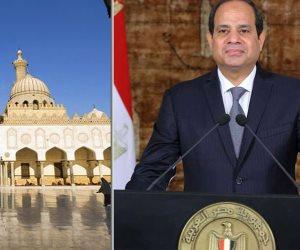 لماذا يعتبر الرئيس «تجديد الخطاب الدينى» أحد مراحل إعادة بناء الإنسان المصرى؟