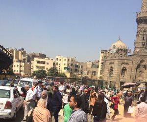 بعد إغلاق كوبرى السيدة عائشة.. شلل مروري بمحور صلاح سالم (صور)