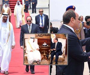 السيسي يستقبل ولي عهد أبو ظبي.. والرئاسة: العلاقات المصرية الاماراتية ذات خصوصية