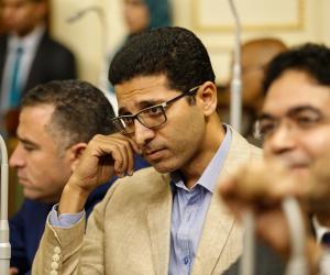 """هيثم الحريرى """"صوت الإخوان في مجلس النواب"""".. تستخدمه قنوات الإرهابية للهجوم على مصر"""