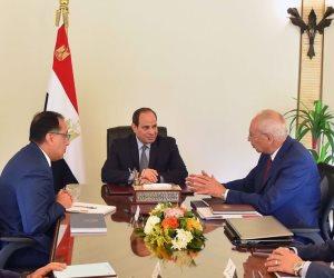 الرئيس السيسي يستعرض الموقف التنفيذي للمدن الجديدة
