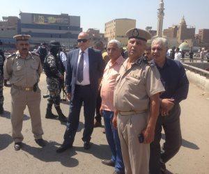 محافظ القليوبية يتابع تفجير انتحاري بجوار كنيسة العذراء في مسطرد