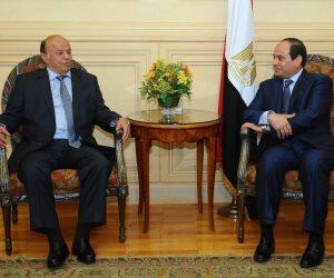 سياسي يمني لـ«صوت الأمة»: زيارة «هادي» في هذا التوقيت تؤكد على ثقل مصر الدبلوماسي