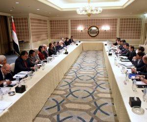 تفاصيل اجتماع 9 وزراء بوفد حكومي من اوزبكستان.. سألوا: «ازاي عملتم صلاح؟» (صور)
