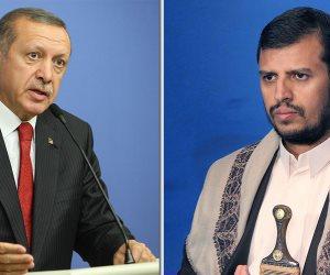 دعم الحوثي لأردوغان في أزمة الليرة.. السلطان المفلس خنجر في ظهر الخليج