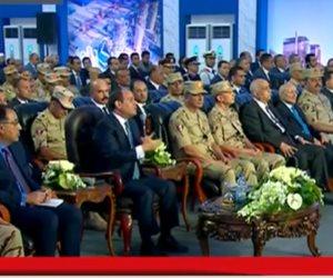 قطار المشروعات لم يتوقف.. السيسى: مجمع مصانع بني سويف جزء من الدولة