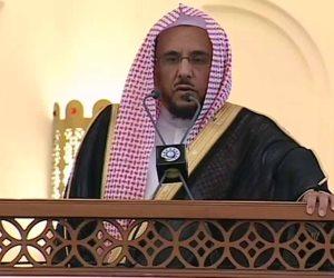 رؤية مصر حاضرة في ركن الحج الأعظم.. ماذا قال خطيب المسجد النبوي في عرفة؟ (فيديو)