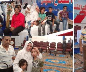 تنفيذاً لقرار الرئيس..السيسى يرسم البسمة على وجوه الغارمين في عيد الأضحى (فيديو وصور)