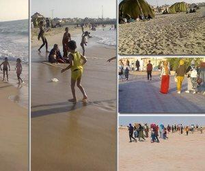 الشواء في مواجهة الإرهاب.. كيف احتفل أهالي شمال سيناء بالعيد؟ (صور)