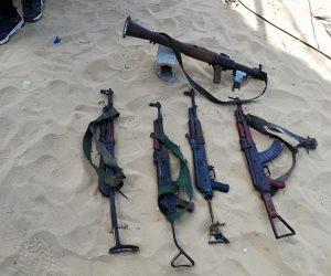 قوات الشرطة تنجح فى التصدى لمجموعة إرهابية هاجمت كمينا أمنيا بالعريش