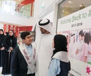 مليون ومئة ألف طالب وطالبة يبدأون دراستهم غدًا.. ما هي رسالة ولي عهد أبو ظبي وحاكم دبي لهم؟