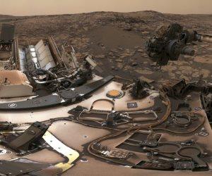 شاهد.. لقطات حديثة لسطح كوكب المريخ: الغبار لا يزال يسد الأجواء
