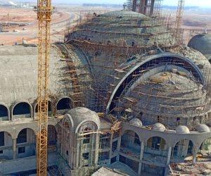 أكبر كنيسة بالشرق الأوسط.. مهندس كاتدرائية العاصمة الجديدة يعلن انتهاء القبة (صور)