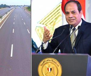 تزامنا مع افتتاح الطريق الإقليمي.. تعرف على تكليفات الرئيس للحكومة والمحافظين