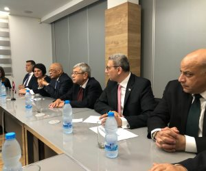"""وزير الطاقة والتجارة والصناعة والسياحة القبرصي لـ""""عبدالعال"""": ازدهار مصر من مصلحة أوروبا"""