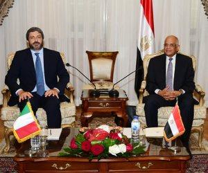 ماذا قال رئيس البرلمان الإيطالي لـ «عبدالعال» عن مقتل ريجيني في مصر؟ (صور)