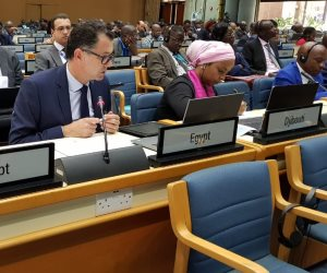 تواصل فعاليات الدورة السابعة الخاصة لمؤتمر وزراء البييئة الأفارقة في نيروبي (صور)