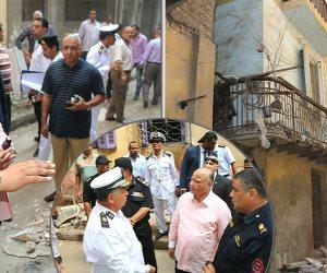 لتأخره في التفاعل مع حادث انهيار عقار.. هكذا عاقب محافظ القاهرة رئيس حى شبرا