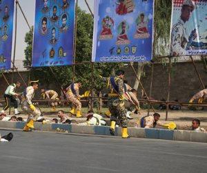 كل ما تريد معرفته عن «هجوم المنصة» في إيران.. تفاصيل سيل دماء 77 ضحية على الطريق