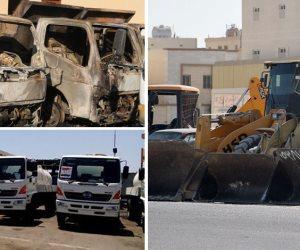 سيارات المصالح الحكومية يأكلها الصدأ.. بيت المُهمل يخرب قبل بيت الظالم