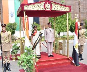 تفاصيل استقبال وزير الدفاع والإنتاج الحربي لنظيره الهندي (صور فيديو)