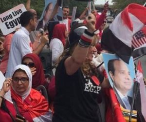 والله وعملوها الرجالة.. أبناء الجالية المصرية في أمريكا تقضي على أحلام الجماعة الإرهابية