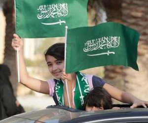 المملكة العربية السعودية تحتفل باليوم الوطني.. كيف أغرق الأخضر شوارع الأرض المقدسة؟