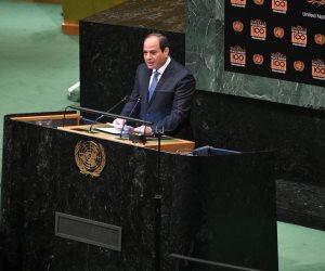 كلمة السيسي باحتفالية «مانديلا» بالأمم المتحدة في عيون البرلمان.. ماذا قال النواب؟