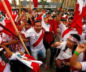 """جماهير بيرو تفوز بجائزة """"فيفا"""" لأفضل جمهور فى العالم 2018"""