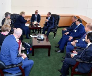 رئيسة وزراء النرويج تؤكد أهمية الدور المصري في استقرار منطقة الشرق الأوسط