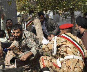 اتهامات عدة لجهات مختلفة.. إيران في حادث المنصة كالذي يغشى عليه من الموت