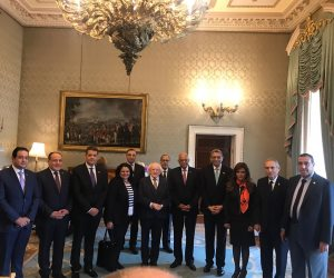"""رسائل هامة بين """"عبدالعال"""" ورئيس أيرلندا أبرزها الصادرات الزراعية.. اعرف التفاصيل"""
