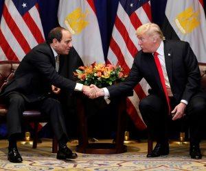 حلفاء على مائدة نيويورك.. كيف يرى ترامب شخصية السيسي بعد اللقاء الخامس؟