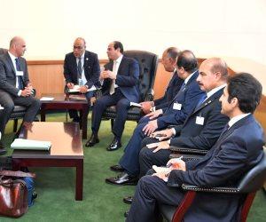 الرئيس السيسي يبحث مع «بيريست» زيادة الاستثمارات السويسرية في مصر