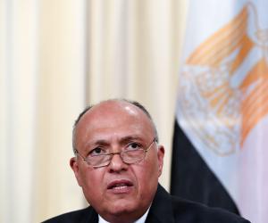 وزير الخارجية يحذر: تركيا وقطر تدعمان تنظيمات متطرفة وميلشيات مسلحة فى ليبيا