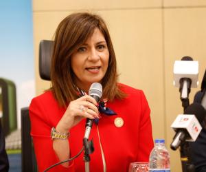 اليوم.. وزيرة الهجرة تتوجه لنيوزيلاندا لزيارة المصابين المصريين في حادث المسجدين