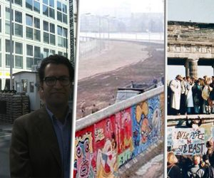 """28 عاما على هدم جدار برلين وانتهاء الحرب الباردة.. الاحتفالات تعم ألمانيا """"صور"""""""