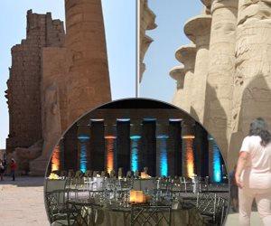 الحقيقة الغائبة في قصة معبد الكرنك.. مدير آثار الكرنك: «مش عيب نزود دخلنا»