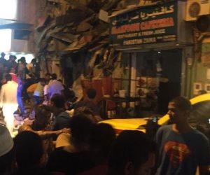 وفاة 4 وإصابة 20 في انهيار مبنى سكني  بالبحرين.. وما زال البحث جاريا (فيديو)