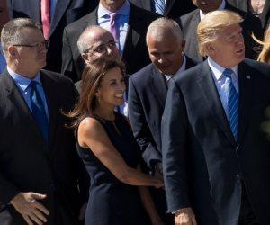 المصرية دينا باول تحرج  ترامب.. من يخلف نيكي هايلي بمنصب سفيرة أمريكا بالأمم المتحدة؟