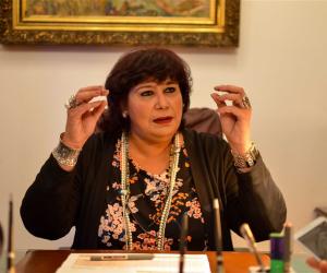وزيرة الثقافة تؤكد للبرلمان قوة مصر محليا وعربيا: «احنا الرواد»