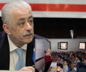 يحدث في الدقهلية.. مدير مدرسة يدعو الطلاب للحضور من على تروسيكل (صور)