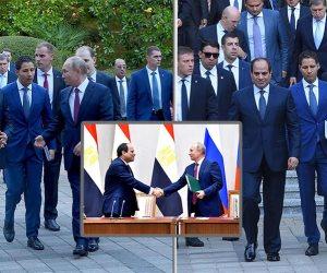 السيسي يغادر روسيا عائداً إلي القاهرة بعد زيارة رسمية لموسكو وسوتشي